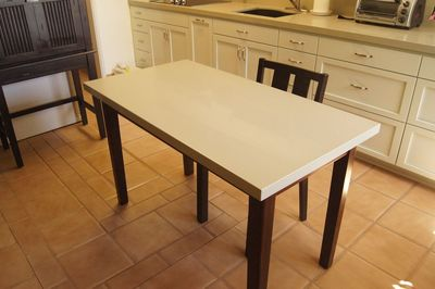 kitchen center table